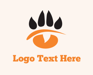 Scratch - Paw Eye logo design