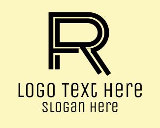 Clothing Brand - Letter R logo design