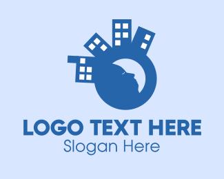 Sleep - Sleepy City logo design