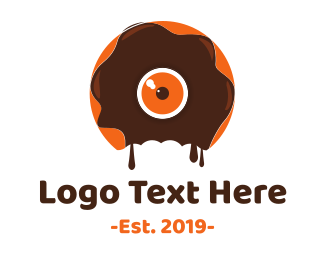 Doughnut - Donut Monster  logo design
