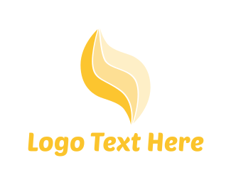 Yellow - Yellow Flame logo design