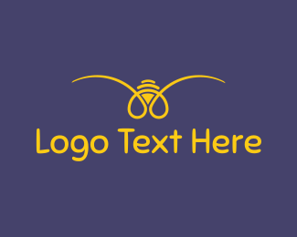 Yellow - Yellow Bee logo design