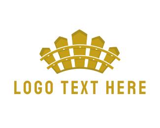 Fence - Fence Crown logo design