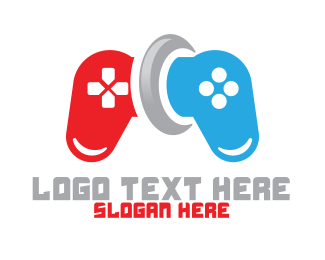Wii - Game Controller logo design