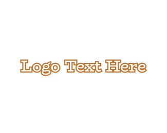 Wordmark - Traditional Golden Wordmark logo design