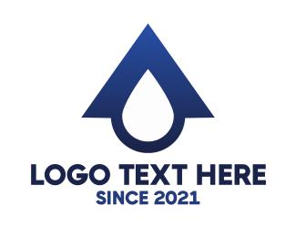 Home - Blue Roof Drop logo design