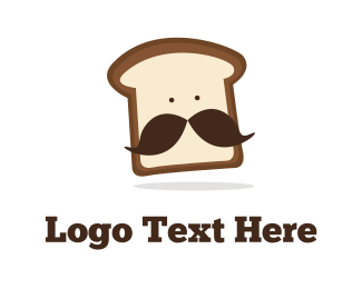 Snack - Mister Bread logo design