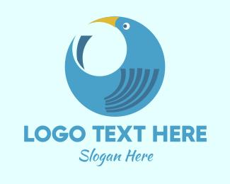 Round - Round Bird logo design