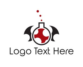 Toxic - Vampire Venom logo design