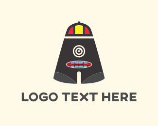 Cap - Letter A Monster logo design