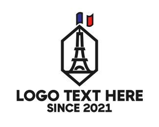 Tourism - Hexagon Tower logo design