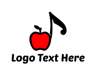Music Studio - Apple Music logo design