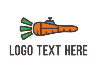 Tank - Carrot Vehicle logo design