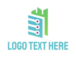 Silicon Valley - Tech City logo design