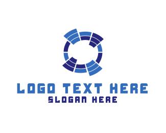 Database - Sound Waves logo design