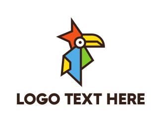 Toucan - Angular Toucan logo design