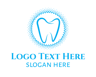 Molar - Blue Molar Circle logo design