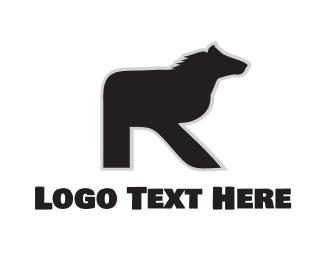 Equestrian - Equine Letter R logo design