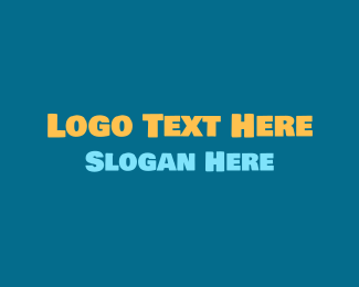 Type - Friendly Bold Text logo design