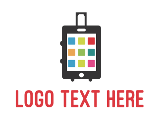 Net - Smart Luggage logo design