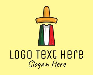 Taqueria - Mexican Sombrero logo design