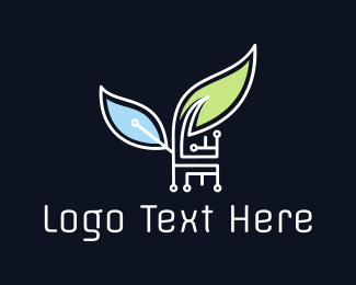 Electrician - Eco Technology logo design