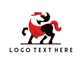 Equine - Tango Horse logo design