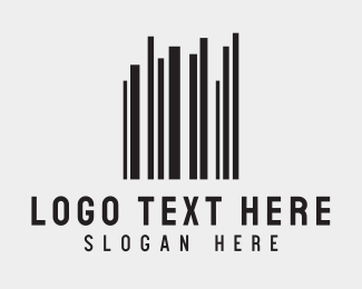 Barcode - Barcode Buildings logo design
