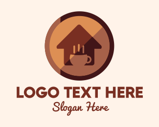 House - Coffee House logo design