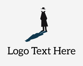 Coat - Mystery Man logo design