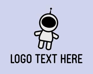 Astronaut - Cute Astronaut logo design