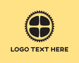 Bicycle - Spike Wheel logo design