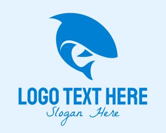 Whale - Black Fish logo design