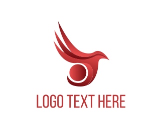 Religion - Red Bird logo design