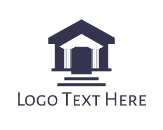 Pillar - Pillar House logo design