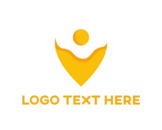 Egg - Egg Pin logo design