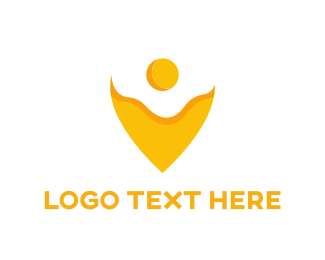 Yolk - Egg Pin logo design