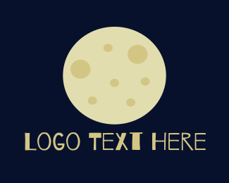 Moonlight - Full Moon logo design