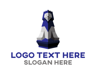 Safari - Lion Tower logo design