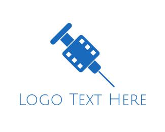 Movie - Movie Addict logo design