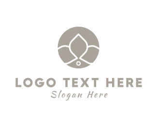 Yoga - Orchid Circle logo design