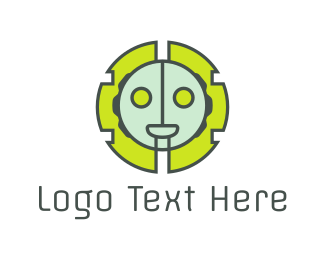 Ai - Robot Head logo design