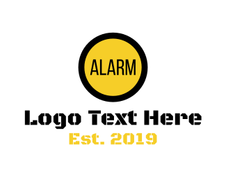 Machinery - Elevator Alarm logo design