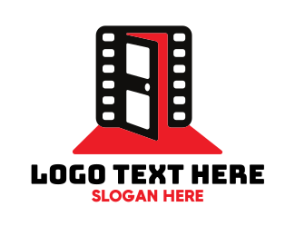 Filmstrip - Cinematic Entrance logo design