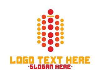 Dot - Modern Dots logo design