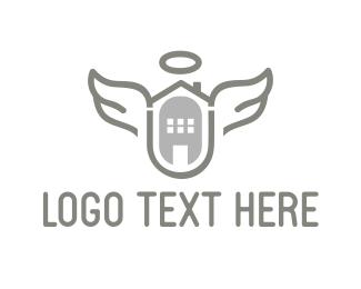 Halo - Heaven House logo design