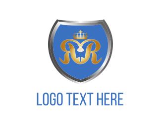 Silver - Blue Shield logo design