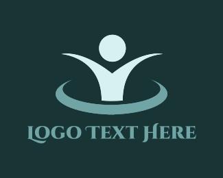 Community - Blue Wellness  logo design