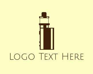 Ejuice - Tiny Vape logo design