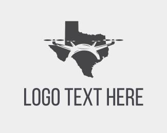 Drone - Texas Drone logo design
